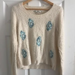 LC Lauren Conrad Eyelash Sweater
